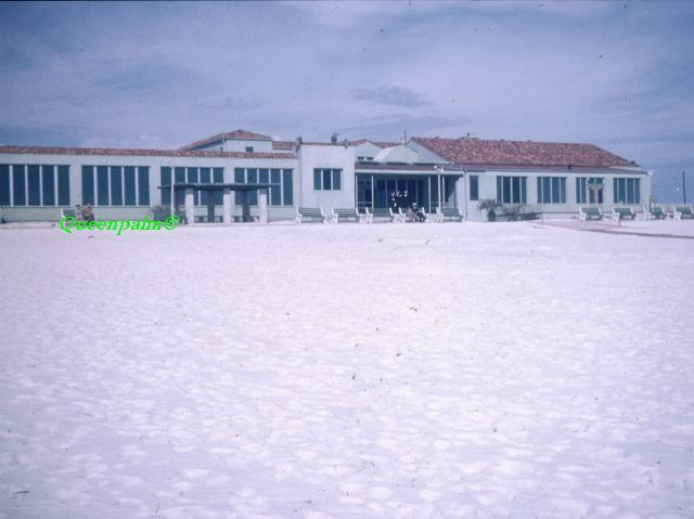 Photo of the Casino at Casino Beach, Pensacola Beach. It was torn down in the 1960s.     If you fancy casino you can readeverything about it here.