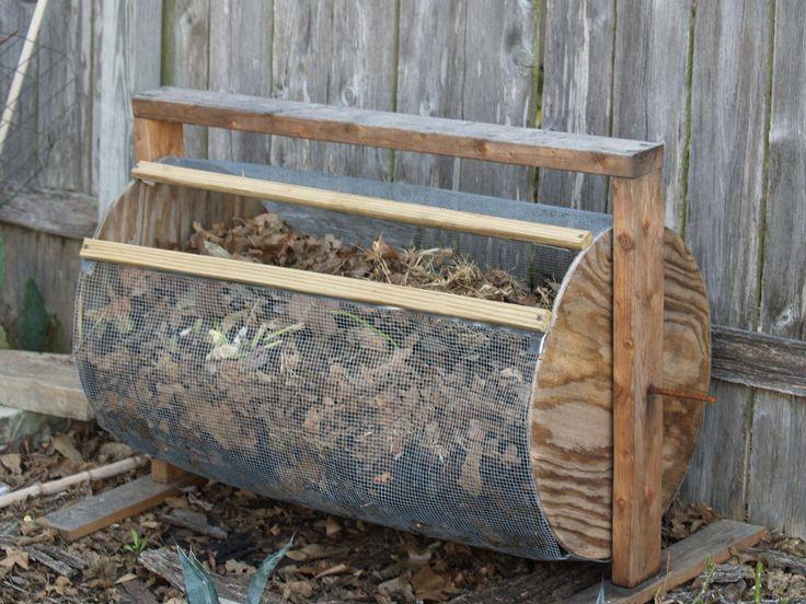 composter drum style diy compost bindiy