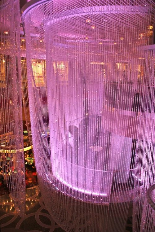 Las Vegas - 2011 - Chandelier Bar in The Cosmopolitan Hotel - LOVE this bar.  And I'm not a bar fan!