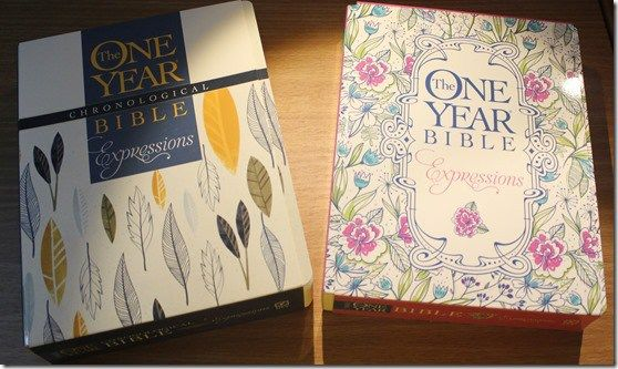 A Tale of Two One Year Bibles: The One Year Bible Expressions and The One Year Chronological Bible Creative Expression | Paulette's Papers