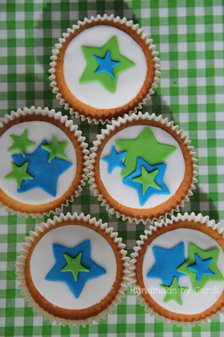 Cupcakes sterren