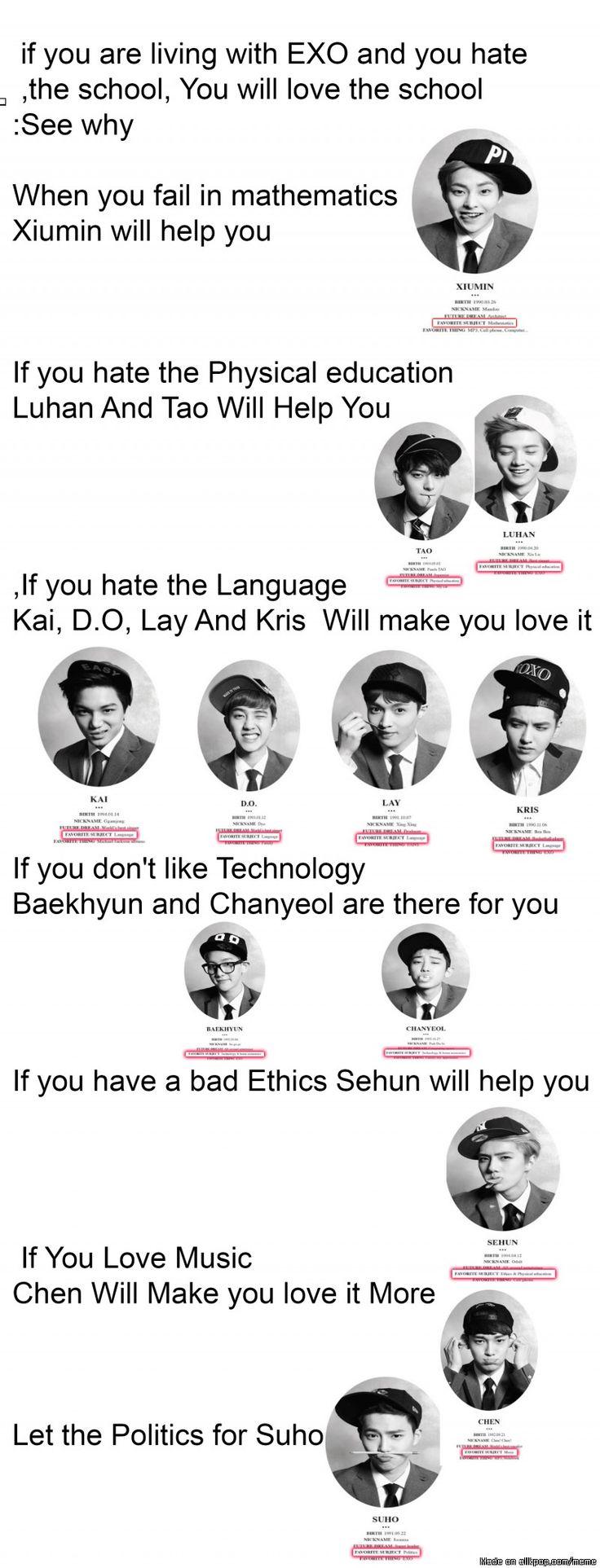 OMG ... EXO School