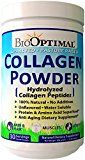 BioOptimal Collagen Powder, Collagen Peptides Grass Fed (300 Grams) Non-GMO Premium Quality Hydrolyzed Collagen Protein, Pasture Raised, Dissolves Easily