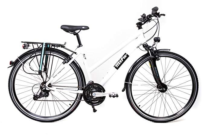 28 Zoll Alu Mifa Fahrrad Trekking Damen Rad Shimano Deore 24 Gang