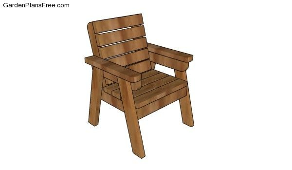Outdoor Chair Plans Free Garden Plans How To Build Garden Projects