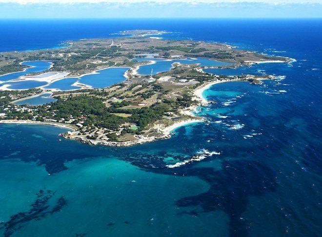 Aerial Photo, Rottnest Island, Western Australia