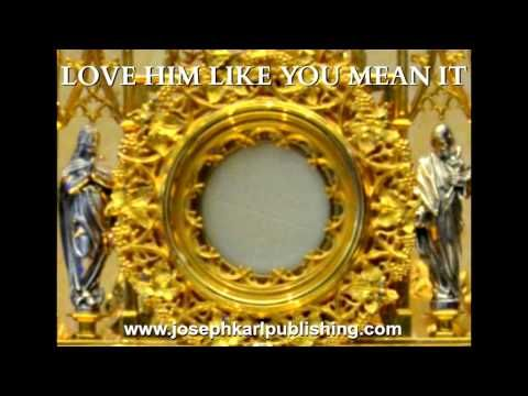 A Holy Hour of Reparation on Calvary and More Scalloped Hosts
