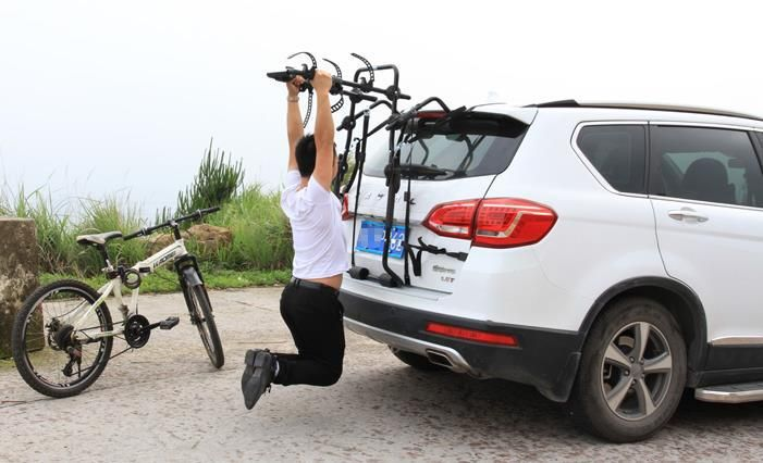 Roof Racks Car bike rack auto car bike rack cross-country car trunk, after rear  bike rack hanging with car suspension frame