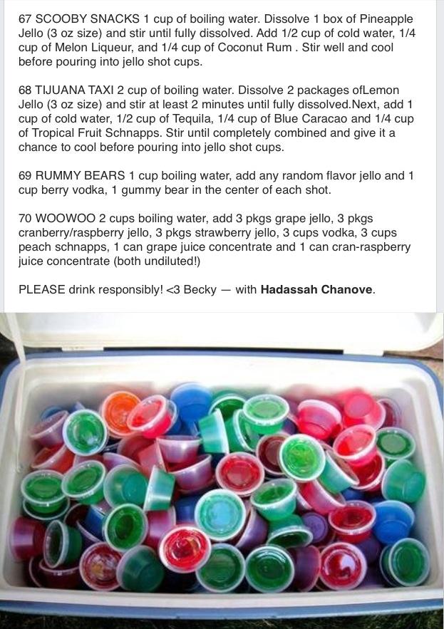 Jell-O shot recipes #7