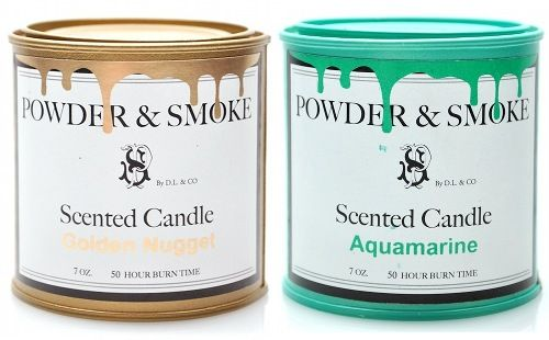 powder & smoke paint can candles, by d.l.&co. (via @designsponge)