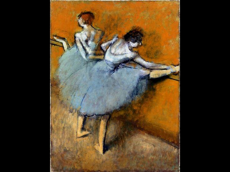 Hilaire-Germain-Edgar Degas, Ballerine alla sbarra, 1900 ca.