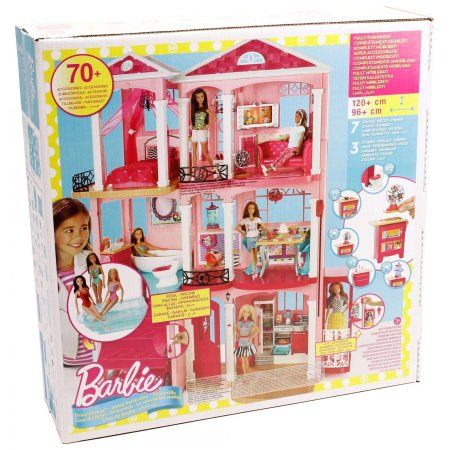 Barbie DreamHouse Playset with 70+ Accessory Pieces - $40 orig. $199 - http://brickseek.com/walmart-inventory-checker?sku=109617949 (playroom)