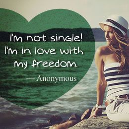 Awesome Facebook Status Quotes About Being Single and Happy