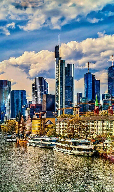 Frankfurt Germany Frankfurt Deutschland Reisen Deutschland Urlaub In Deutschland