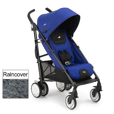 New joie #royal blue brisk stroller baby pushchair from birth #buggy & #raincover,  View more on the LINK: http://www.zeppy.io/product/gb/2/141783799209/