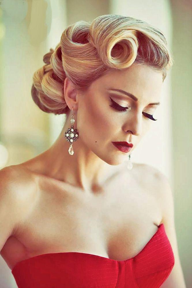 Best 25 Vintage Wedding Hairstyles Ideas On Pinterest: 25+ Best 1950s Updo Ideas On Pinterest
