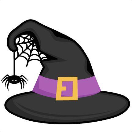 Witch Hat SVG scrapbook cut file cute clipart files for ...