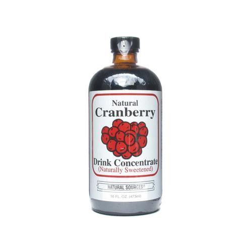 Natural Sources Cranberry Concentrate Drink - 16 Fl Oz