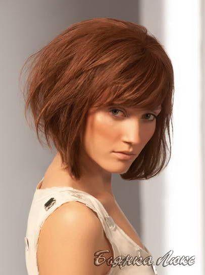 Стрижки и прически для тонких волос 039