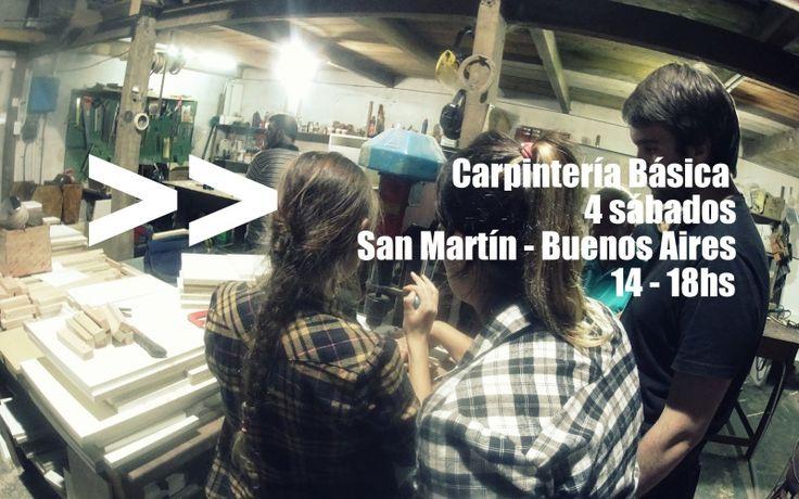 Curso de Carpintería Básica en San Martín -> http://muebleando.com/content/curso-de-carpinteria-basica-4-sabados-san-martin