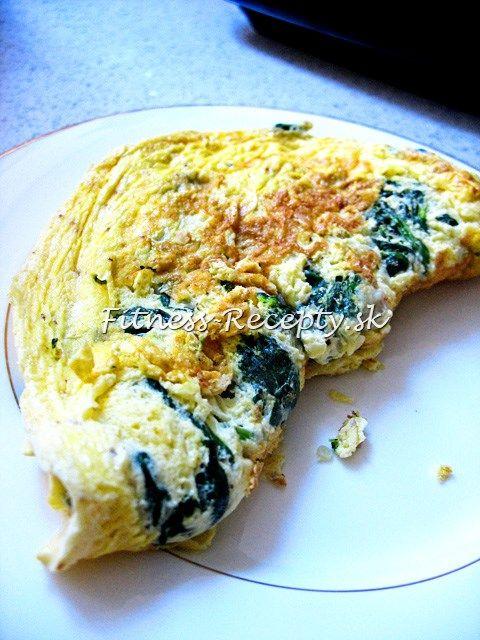 najlepšia fitness omeleta