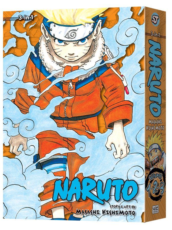Naruto 3 in 1 edition #1