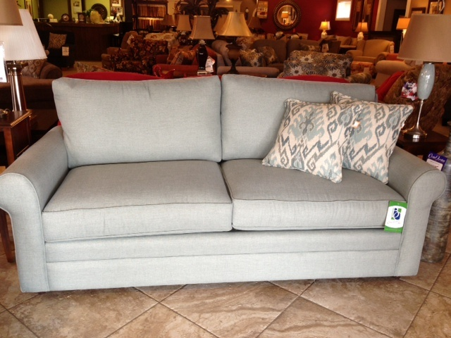 Superior Accent This Light Grey Couch With Any Pop Of Color And Design. Itu0027s From  Our Trip To And Now At Ossian Furniture!