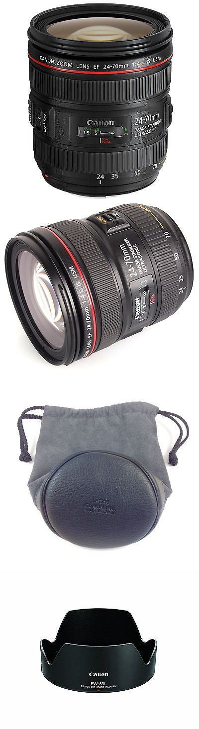 Camera Photo: Canon Ef 24-70Mm F/4.0L Is Usm Standard Zoom Lens *Brand New* -> BUY IT NOW ONLY: $674.99 on eBay!