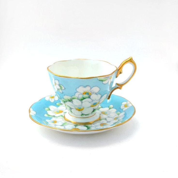 Tea cup and saucer England Royal Albert bone china