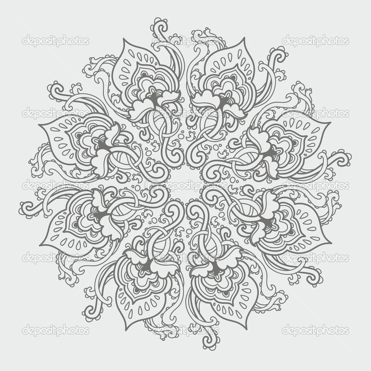 Awesome Mandala Coloring Page