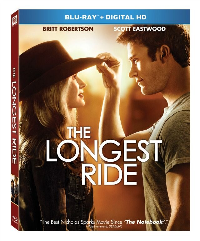 Enter for a chance to win the Blu-Ray DVD of The Longest Ride.