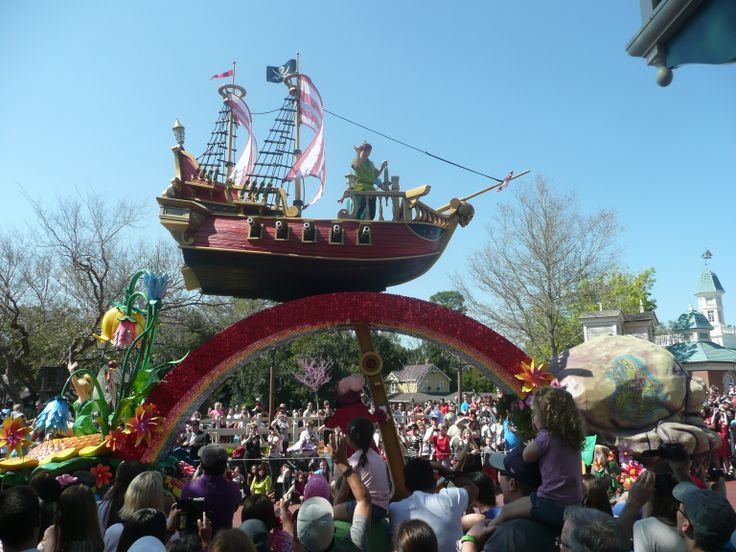 Peter Pan Festival of Fantasy Parade
