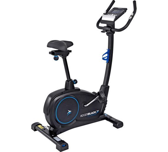 Buy Roger Black Programmable Platinum Exercise Bike at Argos.co.uk, visit Argos.co.uk to shop online for Exercise bikes, Fitness equipment, Sports and leisure