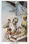 Doyen, Eugène Louis (1859-1916) - Chanteclair - Chanteclair - Chirurgie. Instruments. Chirurgiens. Caricature. Momies (mort). Outils agricoles. Faucheuse. 19e siècle, 20e siècle - CIPN20051