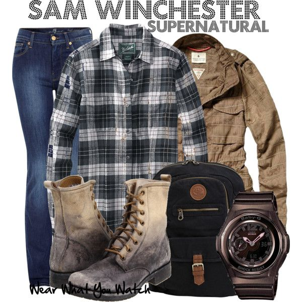 Supernatural by kerogenki on Polyvore