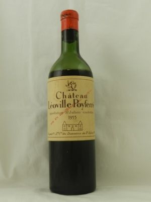 Chateau Leoville Poyferre 1955 #Bordeaux #France