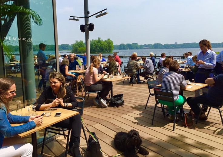 Talks & Treasures - Terrassen aan het water Rotterdam The Boathouse Kralingen