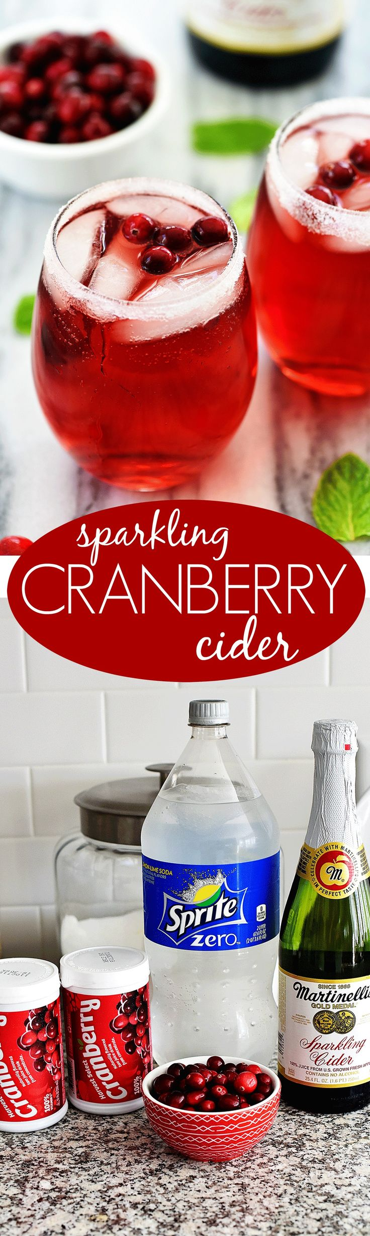This drink is so easy to make and EVERYONE will love it! This is my kids favorite holiday drink!
