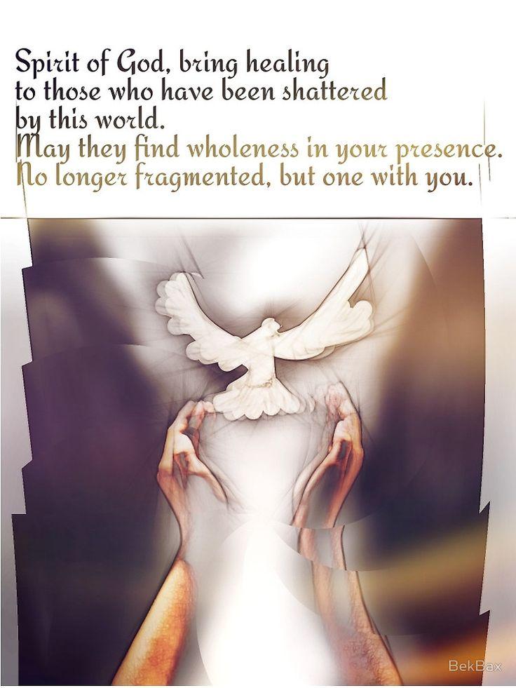 Prayer...of healing by BekBax
