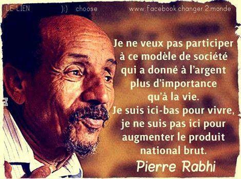 Pierre Rabhi, né en 1938 à Kenadsa, en Algérie, Rabah Rabhi de son vrai nom, est…