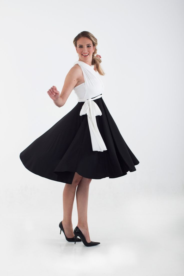 Infinity two tone dress R699.00  http://infinity-dress.co.za/infinity-dress-south-africa/two-tone-infinitydresses