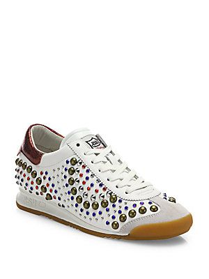 Ash Sound Studded Sneakers
