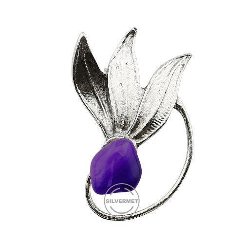 Broszka damska z cyrkoniami.Elegancka broszka damska to niepozorny dodatek biżuteryjny, który w wyjątkowy sposób dopełni każdą kreację.