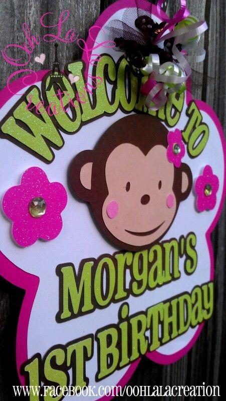 Mod Monkey Door Sign