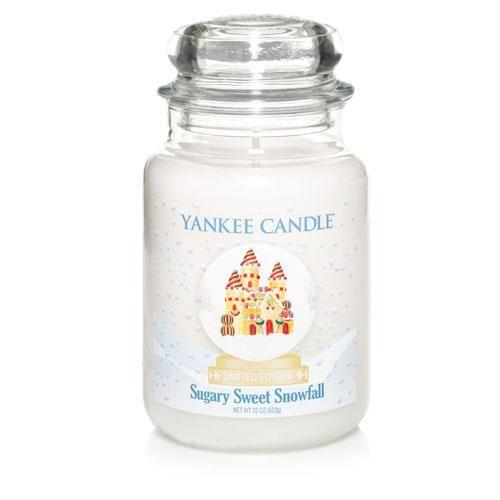 Sugary Sweet Snowfall Large Jar