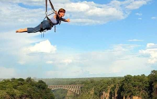 See the falls as you zip line 300 meters across the Batoka Gorge starting . The bridge slide can be done solo or tandem and has become a popular activity and an unique way to see Victoria Falls and the surrounding highlights