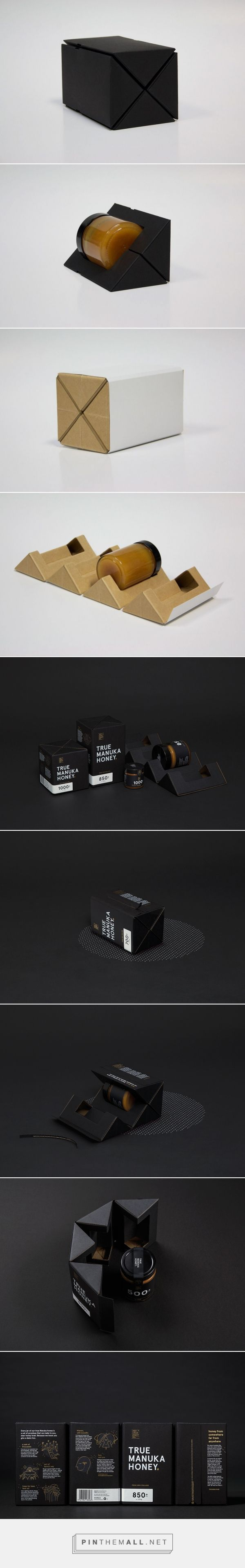 Upscale packaging for The True Honey Co. by Matt Bogust