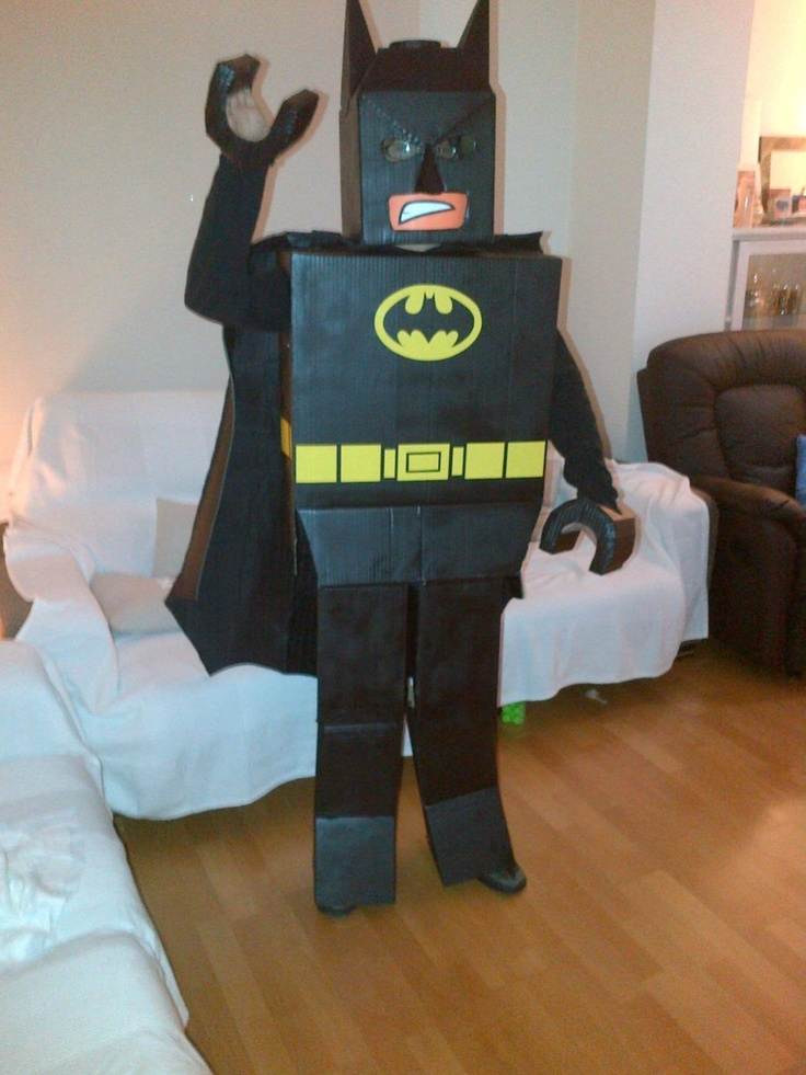 Disfraces originales: Batman de Lego.