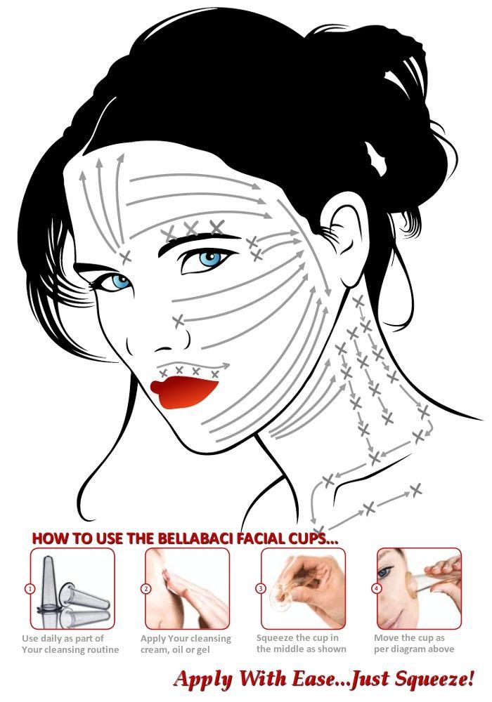 Cómo darse un Holística y Natural Antienvejecimiento Masaje facial: llegar En Bellabaci. Compre su conjunto de Bellabaci vasos faciales o corporales
