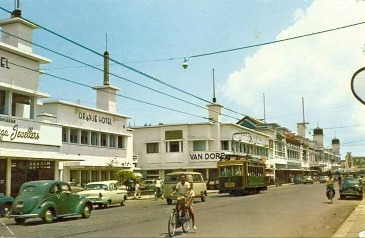 Tunjungan, Surabaya 1950
